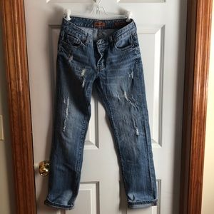 Distressed Seven's Jeans